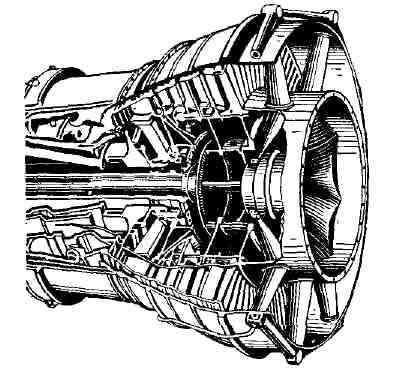 газовая турбина.